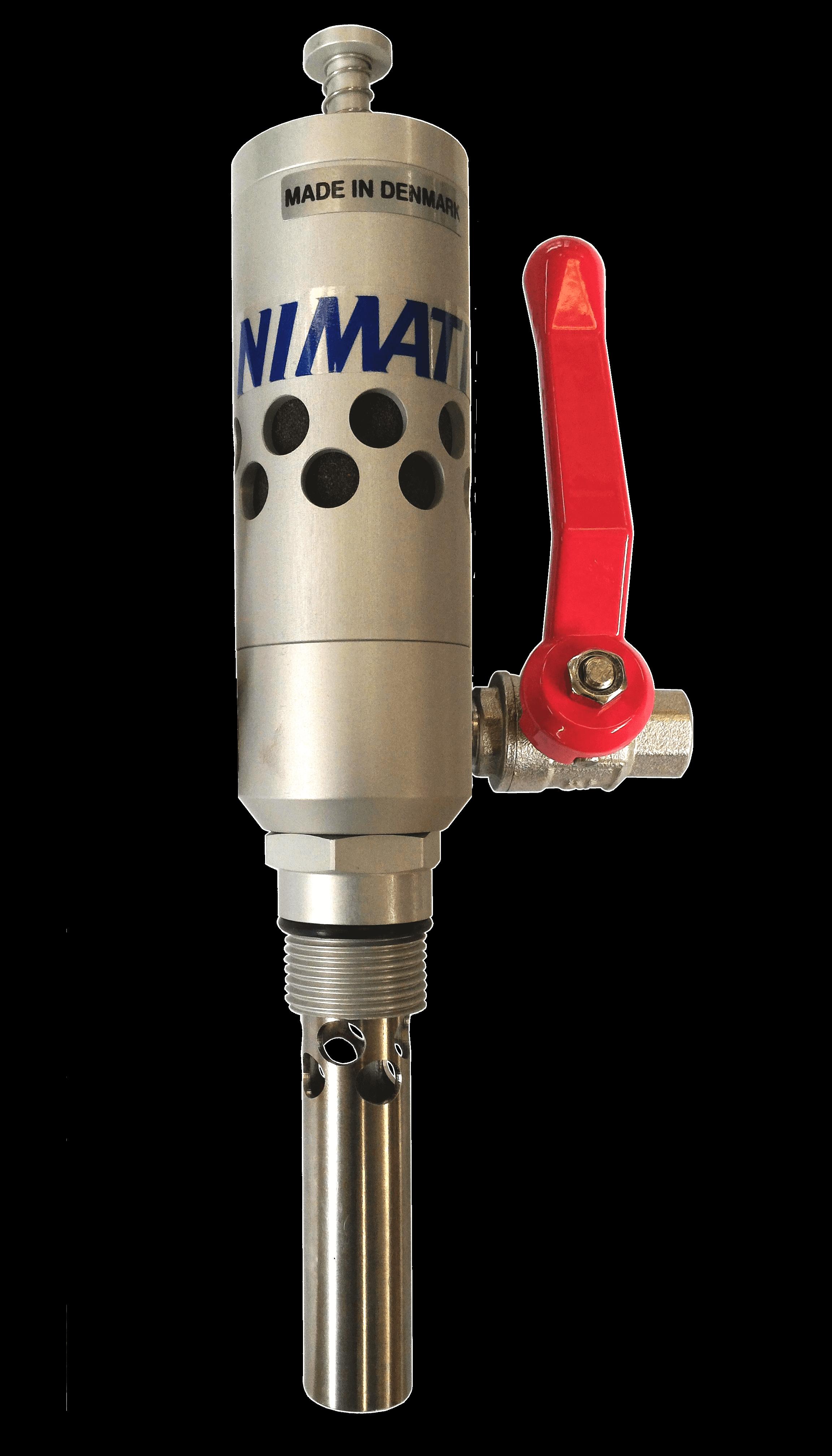 Druckluft-Fasspumpe NC-200 mit Druckregler