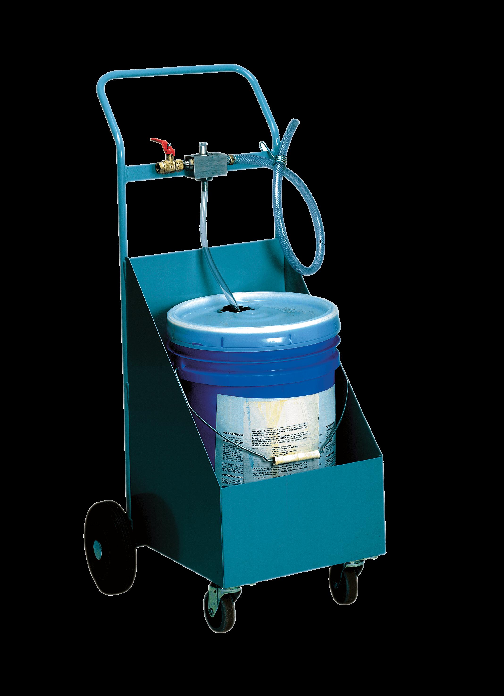 Fasswagen und Mixer-Wagen